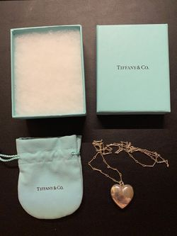 100% Authentic Tiffany Heart Necklace Long Sweater Chain for Sale in Hyattsville,  MD