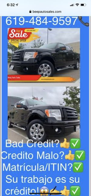 2013 Ford F-150 we Finance Aqui financeamos for Sale in National City, CA