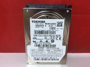 TOSHIBA 80GB 5400RPM SATA MK8046GSX Laptop Hard Drive for Sale in Glen Ridge, NJ
