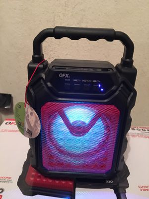 "Mini Bluetooth Speaker 1200 Watts 4"" Speaker 🔊 FM Radio Micro SD Slot BOCINA BLUETOOTH CHICA RECARGABLE 8""x6"" for Sale in Riverside, CA"