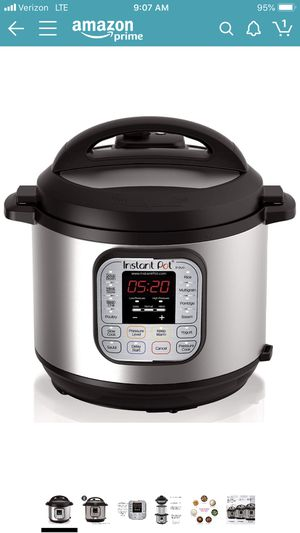 Instant Pot IP-DUO60 7 in 1 programmable pressure cooker for sale for Sale in Rosharon, TX