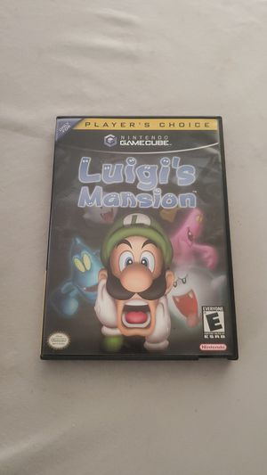 Rare Vintage Nintendo Game Cube Luigis Mansion for Sale in West Covina, CA