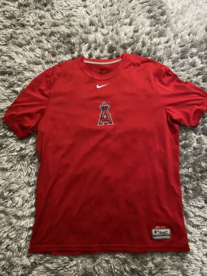 Angels nike baseball tee shirt size L for Sale in Oxnard, CA