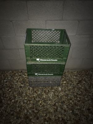 Milk crates for Sale in Surprise, AZ