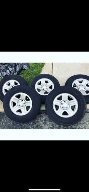 Jeep Wrangler wheels for sale 16s for Sale in Greenbelt, MD