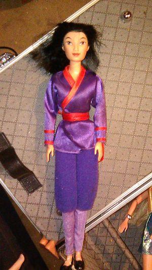 Mulan Barbie for Sale in Phoenix, AZ