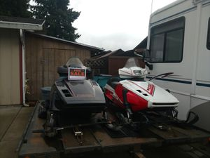 Snowmobiles and Trailer for Sale in Vancouver, WA