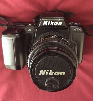 Classic Nikon N6006 35mm Film Camera for Sale in Arlington, VA
