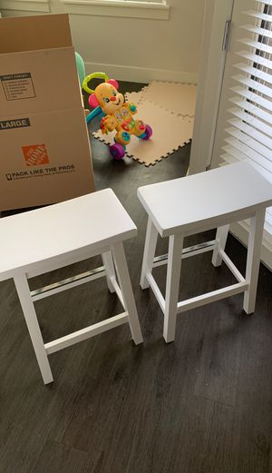 White stools for Sale in Littleton, CO