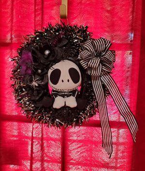 Jack Skellington wreath for Sale in El Paso, TX