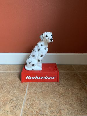Rare Collectible Budweiser Dalmatian Statue for Sale in Vancouver, WA