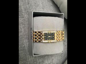 Diamond Bulova Watch for Sale in Anaheim, CA