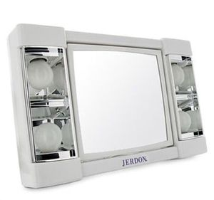 Jerdon 3X-1X Lighted Makeup Mirror White vanity mirror for Sale in Azusa, CA