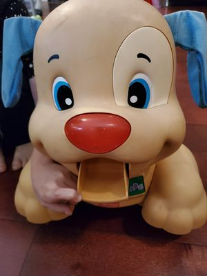 Fisher-Price Laugh & Learn Stride-to-Ride Puppy, walker, booster seat for Sale in Irwindale, CA