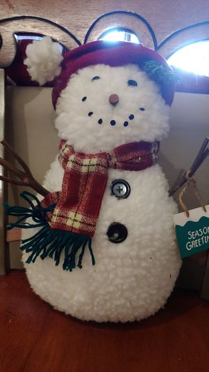 Snowman holiday decorations for Sale in Gaithersburg, MD