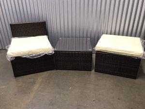Flash Sale! 3-piece patio set. for Sale in Santa Fe Springs, CA