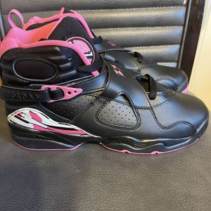 Brand new Jordan retro 8 pink and black size 7Y no box for Sale in San Antonio, TX