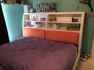 Santa Cruz full bookcase daybed-white for Sale in Richmond, VA