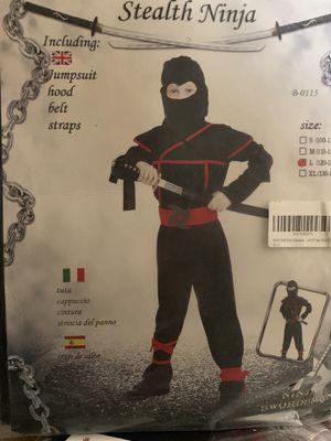 Boys Ninja Costume - Brand new for Sale in Riverside, CA