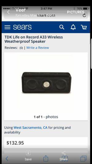 Wireless speaker for Sale in Modesto, CA