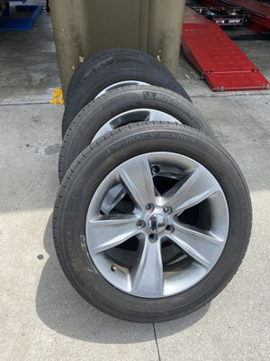 """2016 Dodge Challenger 18"""" Rims and Tire. for Sale in Tampa, FL"""