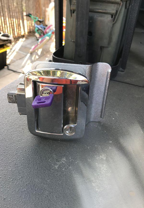 RV camper trailer Paddle Entry Door Lock