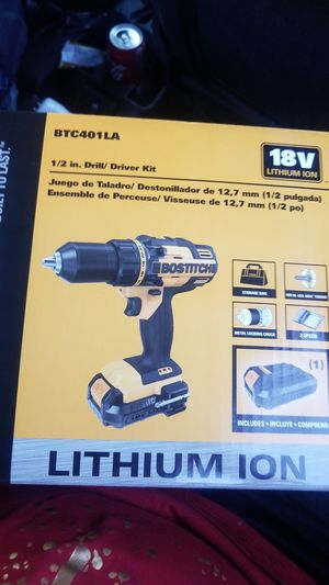 Bostitch 18 v drll for Sale in Goodyear, AZ
