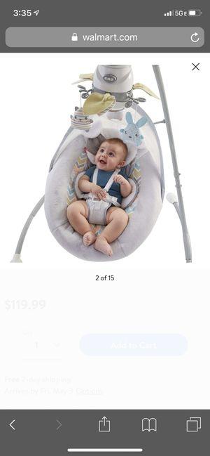 Fisher price cradle and swing - snugapuppy for Sale in Alexandria, VA