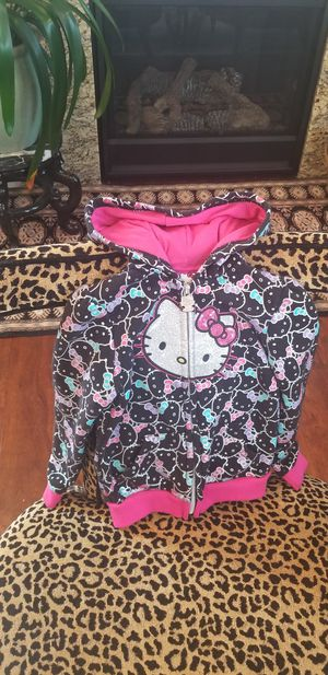 Hello Kitty Hoodie Toddler size 4T for Sale in Gig Harbor, WA