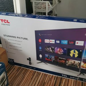 55 inch new TCL ultra high definition smart TV $375 for Sale in Cleveland, OH