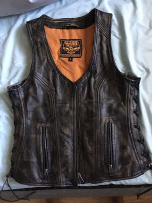 Leather vest for Sale in Henderson, NV