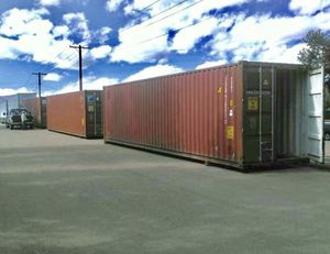 Used Containers- 40' HC WWT Portable Container Units for Sale in Savannah, GA
