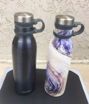 Contigo Couture THERMALOCK Vacuum-Insulated Stainless Steel Water Bottle - 2 Nos. for Sale in Santa Ana, CA