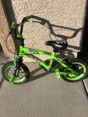 12 Inch Kids Bike Bicycle X Games Lime Green for Sale in Henderson, NV