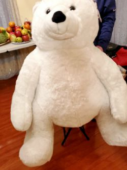 Giant White Teddy Bear for Sale in San Jose,  CA