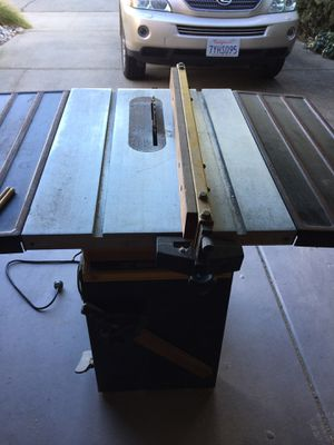 Table Saw working good for Sale in Pleasant Hill, CA