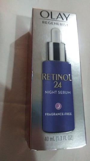 Olay regenerist retinol 24 night serum for Sale in Colton, CA