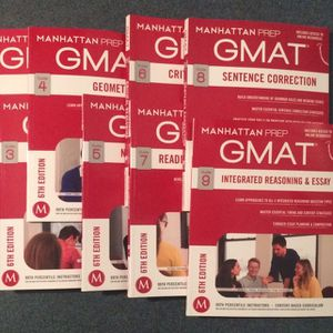 Manhattan Prep GMAT Strategy Guides (Complete Set: 0-9) (6th Edition) for Sale in Berkeley, CA
