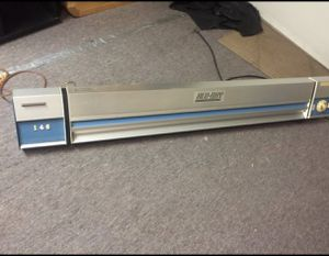 Vintage Blu-Ray Blueprint Printer Engineering Poster Model 142 for Sale in Des Moines, WA