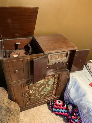 Hi-Fi Antique AM Stereo Cabinet for Sale in Kingsburg, CA