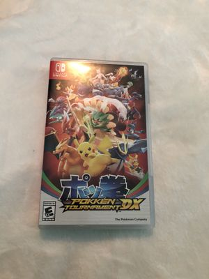 Pokken tournament Nintendo Switch for Sale in Ashburn, VA