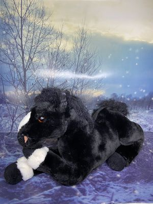 "Animal Alley black stallion Horse 15"" Plush for Sale in Lakewood, CA"