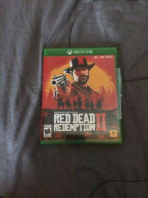 Red Dead Redemption 2 Xbox one for Sale in East Jordan, MI