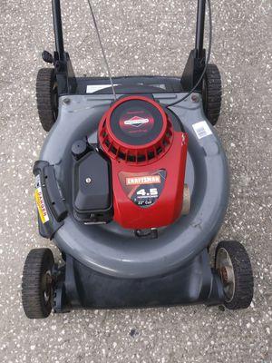 21 inch cut Craftsman lawn mower for Sale in Saint Petersburg, FL