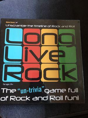 Long Live Rock Board Game by Aleken Games for Sale in Rockville, MD