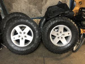 Jeep wheels for Sale in Wyomissing, PA