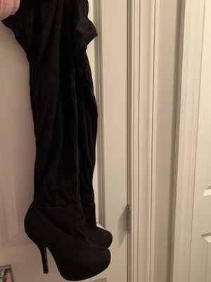 Thigh high boots sz 7 for Sale in Washington, DC