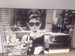 "PRICE REDUCTION-""Breakfast at Tiffanys / Audrey Hepburn for Sale in Alexandria, VA"