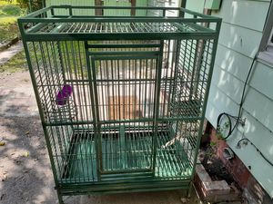 Super Large steel Bird cage at a good price. for Sale in Cleveland, OH