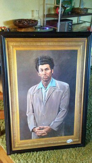 """Wood Framed 24"""" X 36"""" Kramer Print - Seinfeld for Sale in Gresham, OR"""